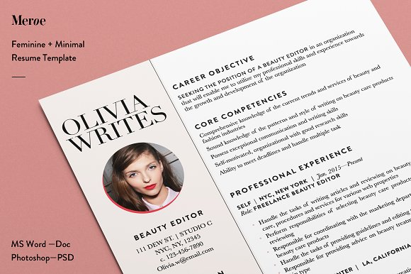 Eye-Catching Resume – A Strong Base For Any Job